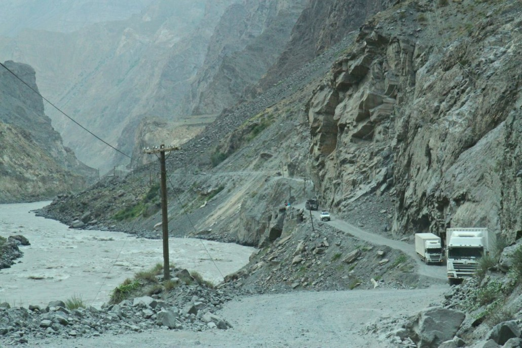 High on the Pamir Highway